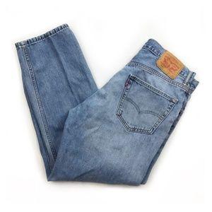 Levis 550 | 34 x 29 Jeans Mens Straight Leg Cotton